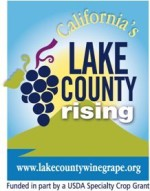 Lake County Rising Logo