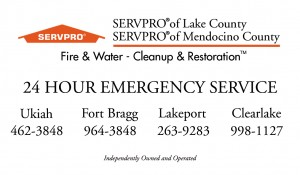 SERVPRO fire and water cleanup restoration-both franchises