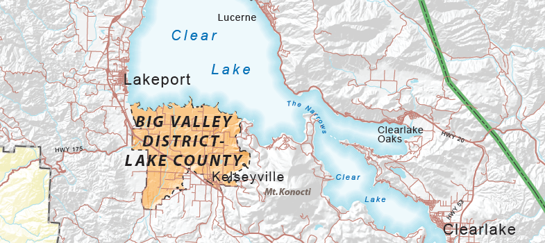 Big Valley AVA - Lake County