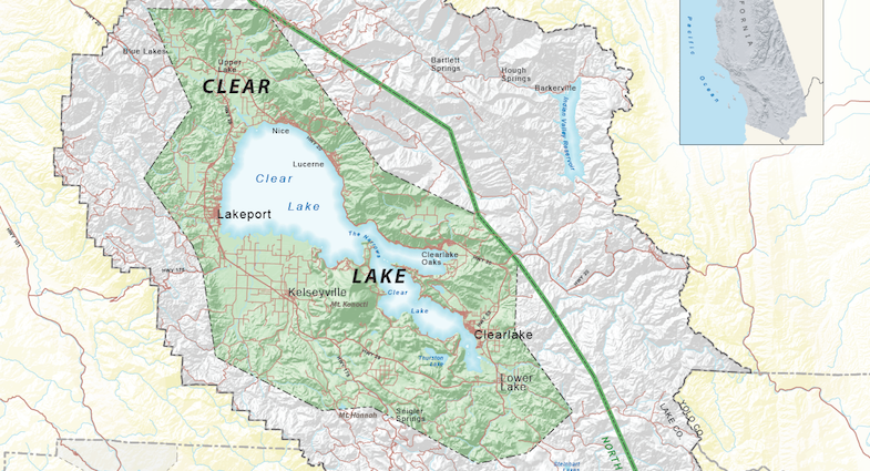 Clear Lake AVA - Lake County