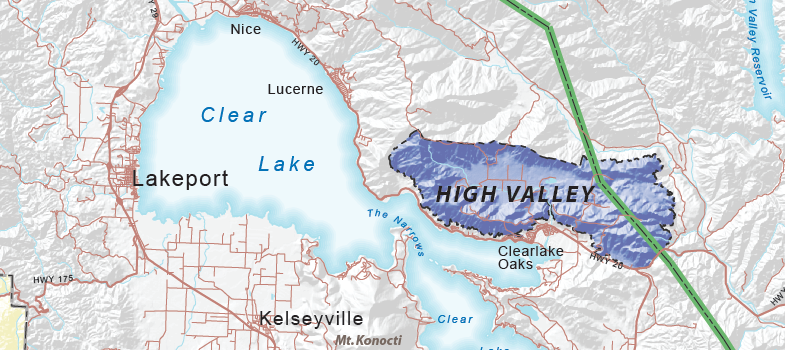 High Valley AVA - Lake County