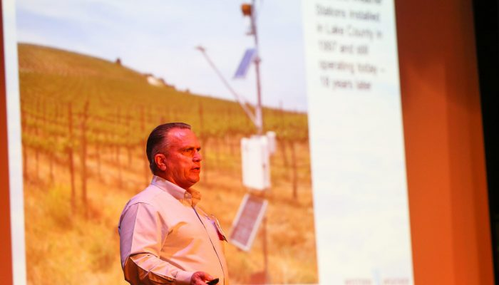 Weather station data by Don Schukraft, Western Weather Group