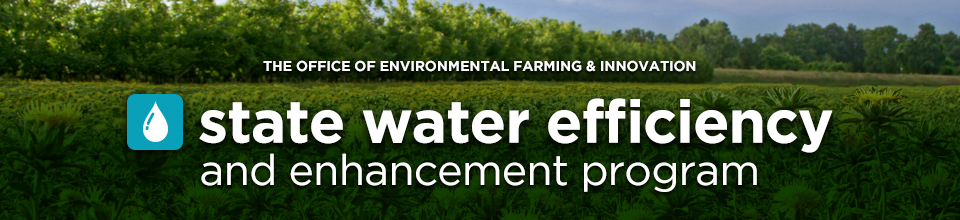 State Water Efficiency and Enhancement Program banner