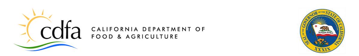 CDFA banner and logo