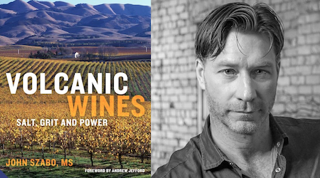 Volcanic Wines book cover & author John Szabo
