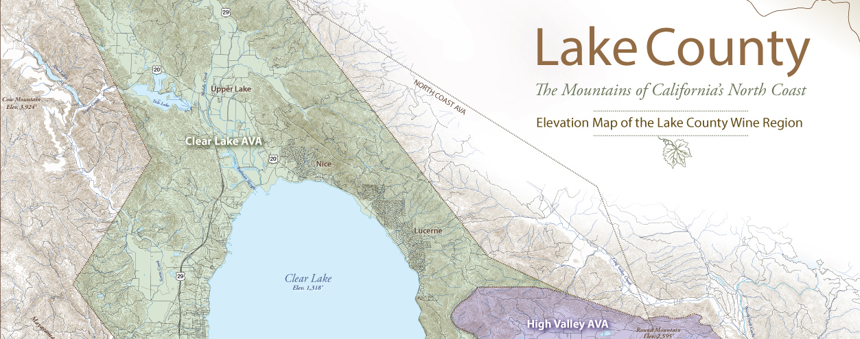 Lake County AVA Map Banner