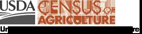 USDA Census of Agriculture logo