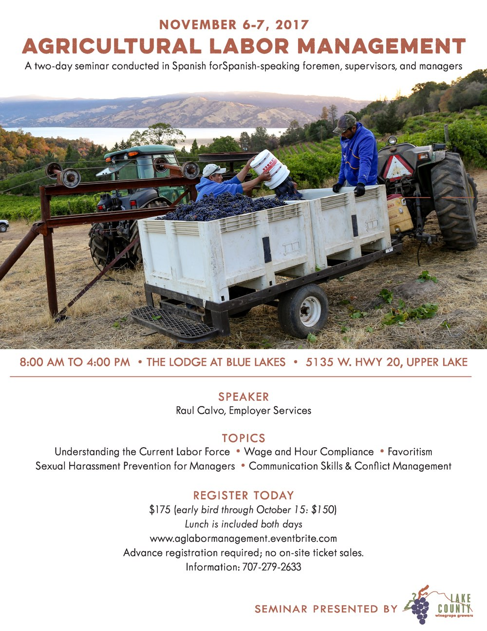 2017 Ag Labor Management Seminar (Spanish)