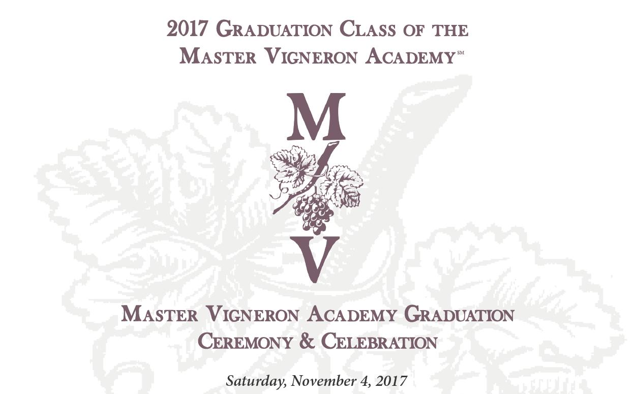 2017 MVA Graduation Announcement