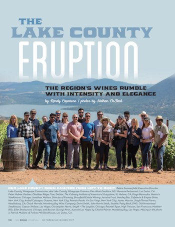 The SOMM Journal Article on Lake County, Oct/Nov 2017