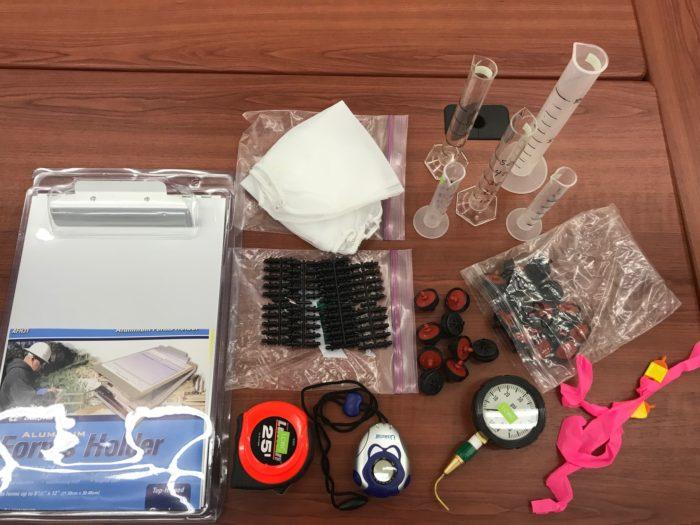 Distribution Uniformity Kit Contents