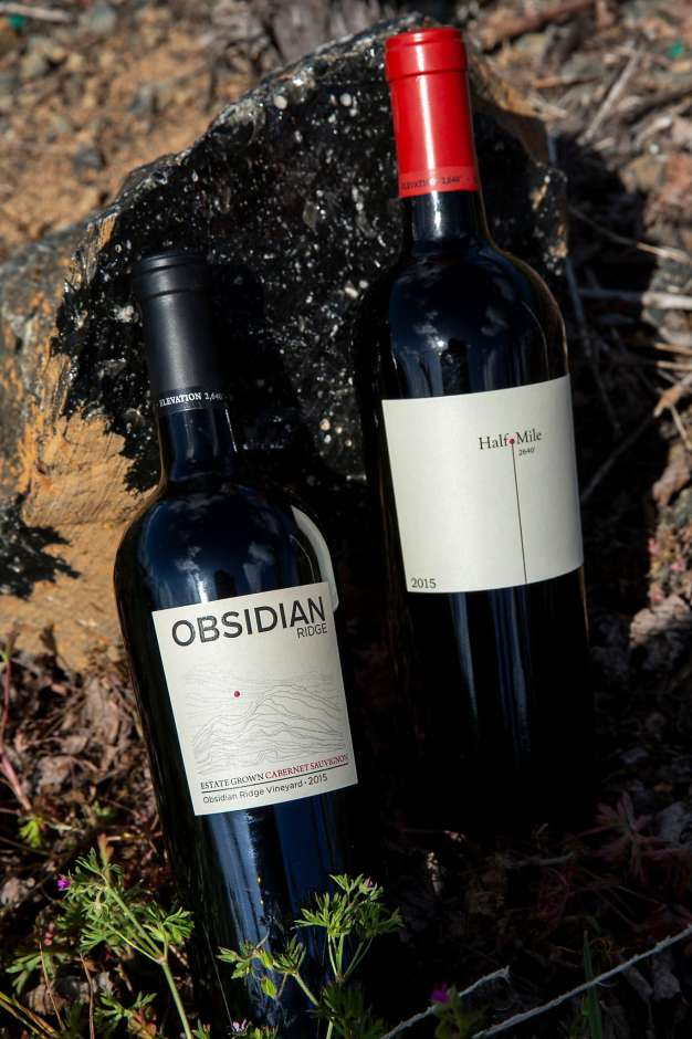 Obsidian Ridge Wines, SF Chronicle, photo by Santiago Meija