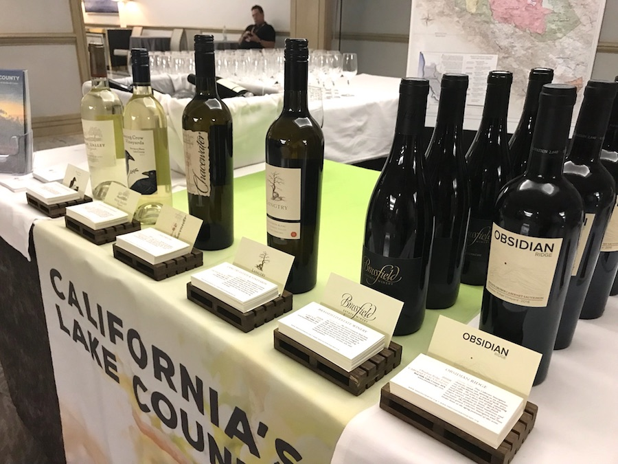 Lake County Wines at TEXSOM August 2018