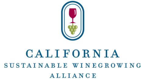 California Sustainable Winegrowing Alliance (CSWA) logo