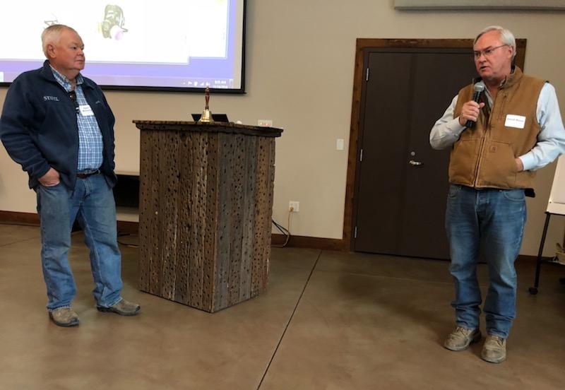 Glenn McGourty and David Weiss present at IPM Seminar