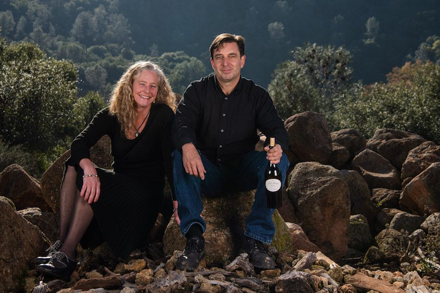 "Jill Brothers and Bryan Kane, Lake County, Calif., Wine Enthusiast ""Volcanic California,"" Credit Michael Housewright"