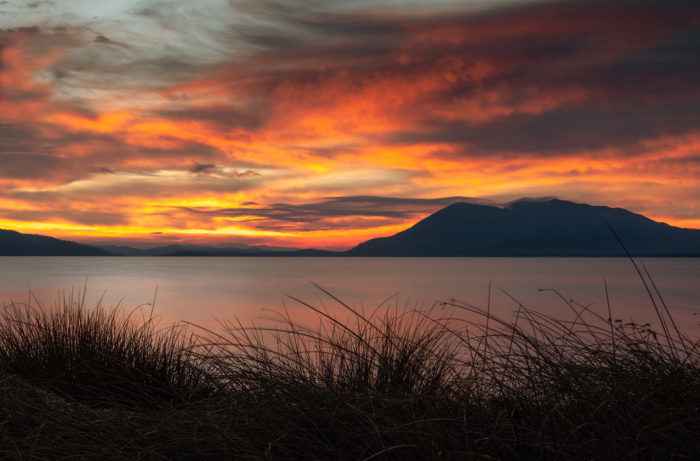 "Sunset, Lake County, Calif., Wine Enthusiast ""Volcanic California,"" Credit Michael Housewright"