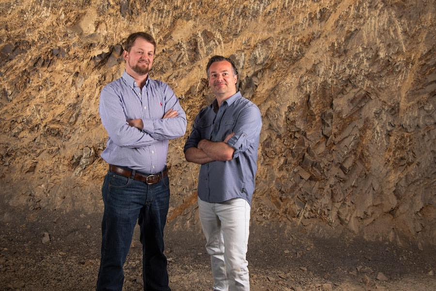 "Jonathan Walters and Matt Hughes, Lake County, Calif., Wine Enthusiast ""Volcanic California,"" Credit Michael Housewright"