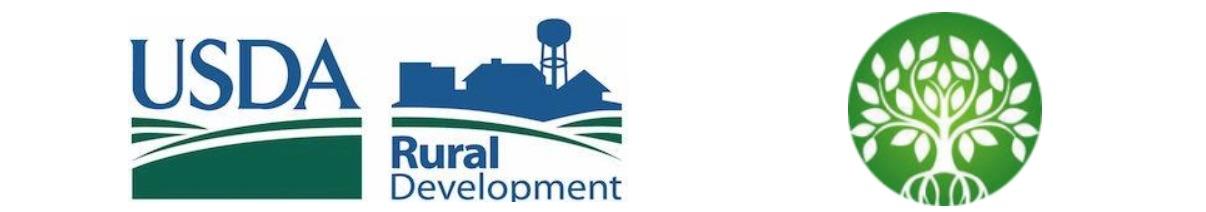 USDA Rural Development and CAEDC logo banner