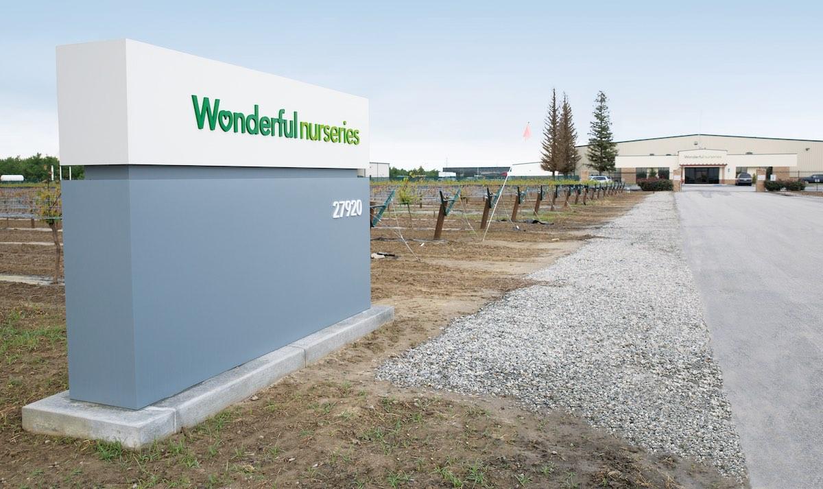 Wonderful Nurseries Production Facility