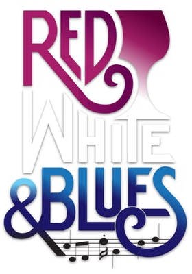 Red White & Blues event logo, Lake County