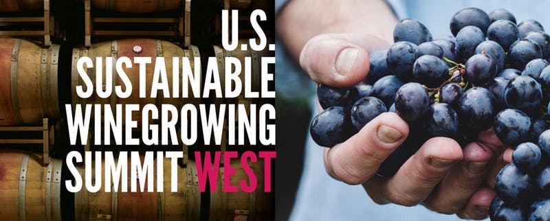 US Sustainable Winegrowing Summit banner