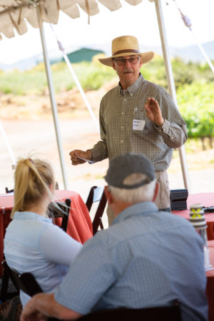Bryan Rahn speaking at Implementing Sustainable Farming Practices workshop