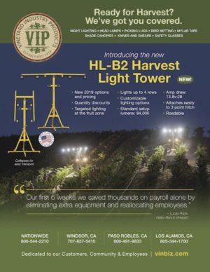 VIP flyer for HL-B2 Harvest Light Tower