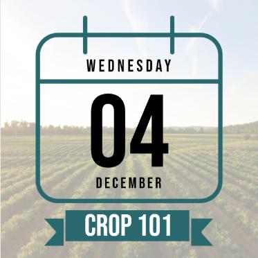 Calendar icon representing Crop 101