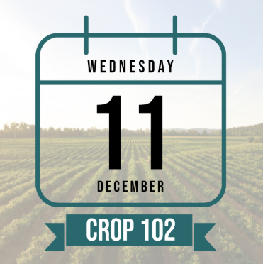 Calendar icon representing Crop 102