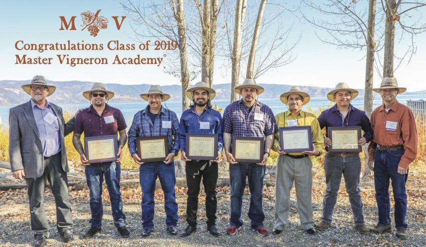 Master Vigneron Academy(R) class of 2019