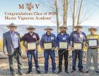 2019 Master Vigneron Graduation in Lake County, group photo by Karen Pavone
