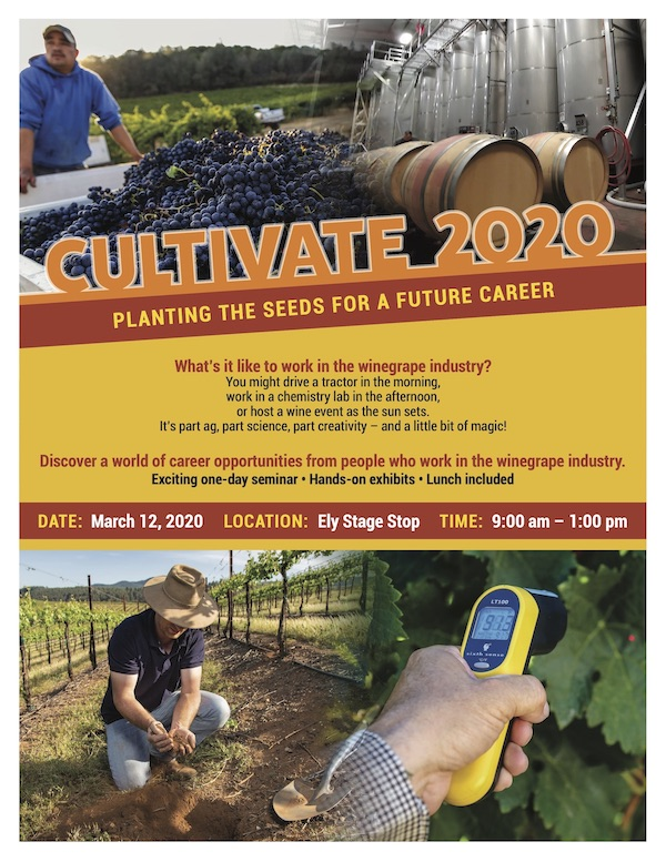 Cultivate 2020 Youth Program Flyer