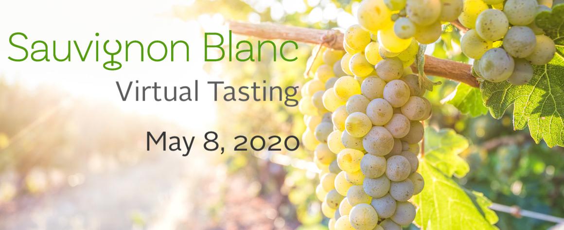 Lake County Sauvignon Blanc Virtual Tasting banner