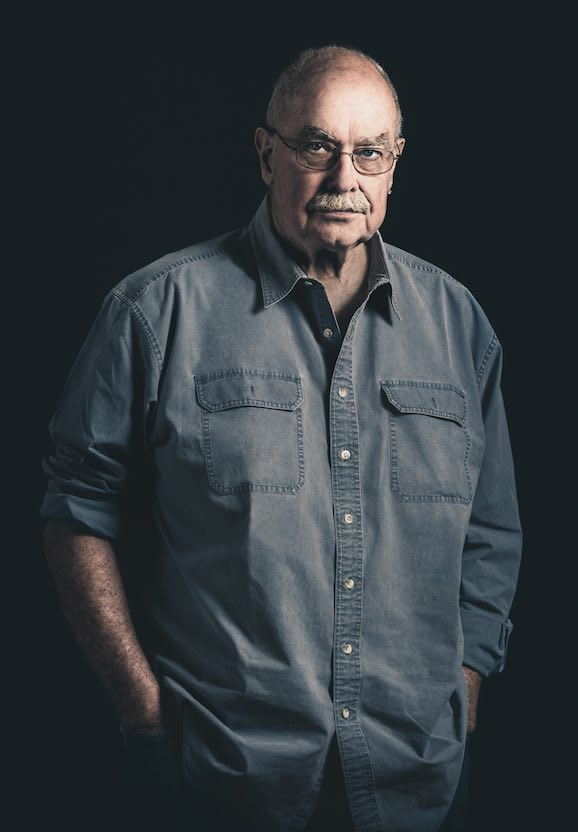 Portrait of Jed Steele of Steele Vineyards, Lake County, by Nathan DeHart
