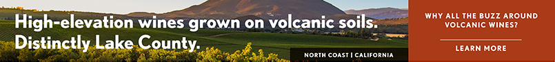 Wine Enthusiast / Lake County Volcanics Webinar banner