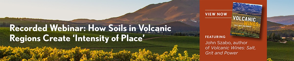 Wine Enthusiast & Lake County Volcanics Webinar banner