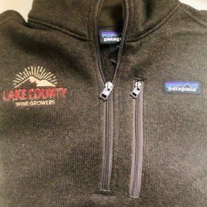 Patagonia logo sweater