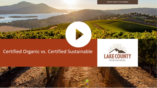 On-Demand Webinar: Organic vs. Sustainable